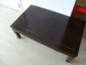 Détails sur En vente superbe table basse Japonaise 19eS en bois de rose