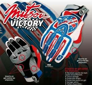 GANTS-CROSS-USA-BLEU-TAILLE-L-GLOVE-CROSS-ENDURO-TRIAL-QUAD-TOP-Qualite