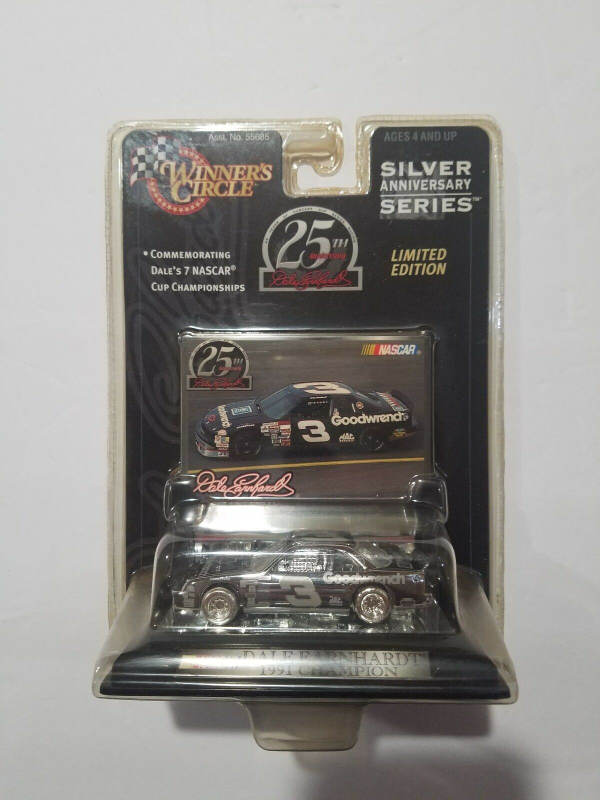 NASCAR Winner's Circle Dale Earnhardt Limited Edition 25th Anniversary Series