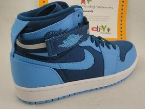 95afd455084d36 Image is loading Nike-Air-Jordan-1-High-Strap-French-Blue-