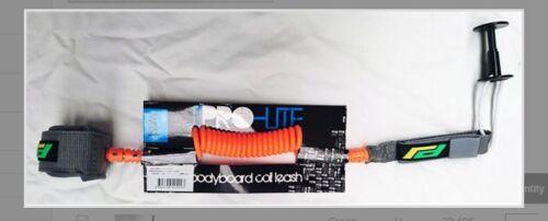 leash telephone BODYBOARD PROLITE WRIST COILED LEASH ECM006 orange