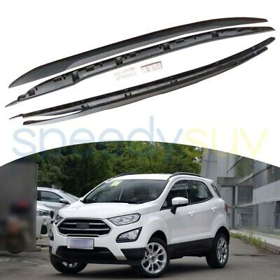 SnailAuto Silver Aluminum Alloy Cross Bars Crossbars Roof Rack Fit for Ford Ecosport 2013-2021