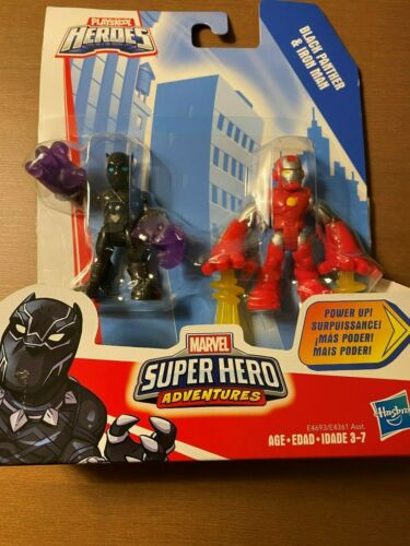 à collectionner 2.5 pouces... Playskool Héros Marvel Super Hero Adventures 2-Pack