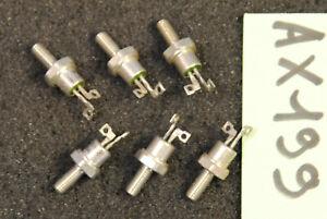 Lot de 6 x thyristor 2N1771   Thomson ( AX199 )