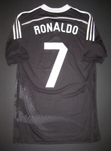 super popular 03ea1 c8fc9 Details about 2014-2015 Real Madrid Cristiano Ronaldo Yohji Yamamoto Jersey  Shirt Kit Dragon