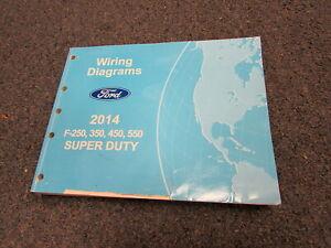 2014 Ford F-250 350 450 550 Super Duty Electrical Wiring ...