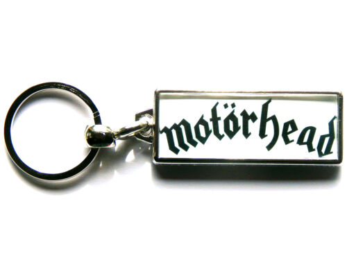 MOTORHEAD Heavy Metal Band Large Chrome Keyring Picture Both Sides
