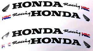 Honda-CBR-Racing-Fireblade-Blade-Wheel-Rim-Logo-Sticker-Decal-x-8-Black-TXT-HRC
