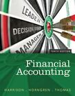 Financial Accounting by Charles T. Horngren, C. William R. Thomas and Walter T., Jr. Harrison (2014, Hardcover)