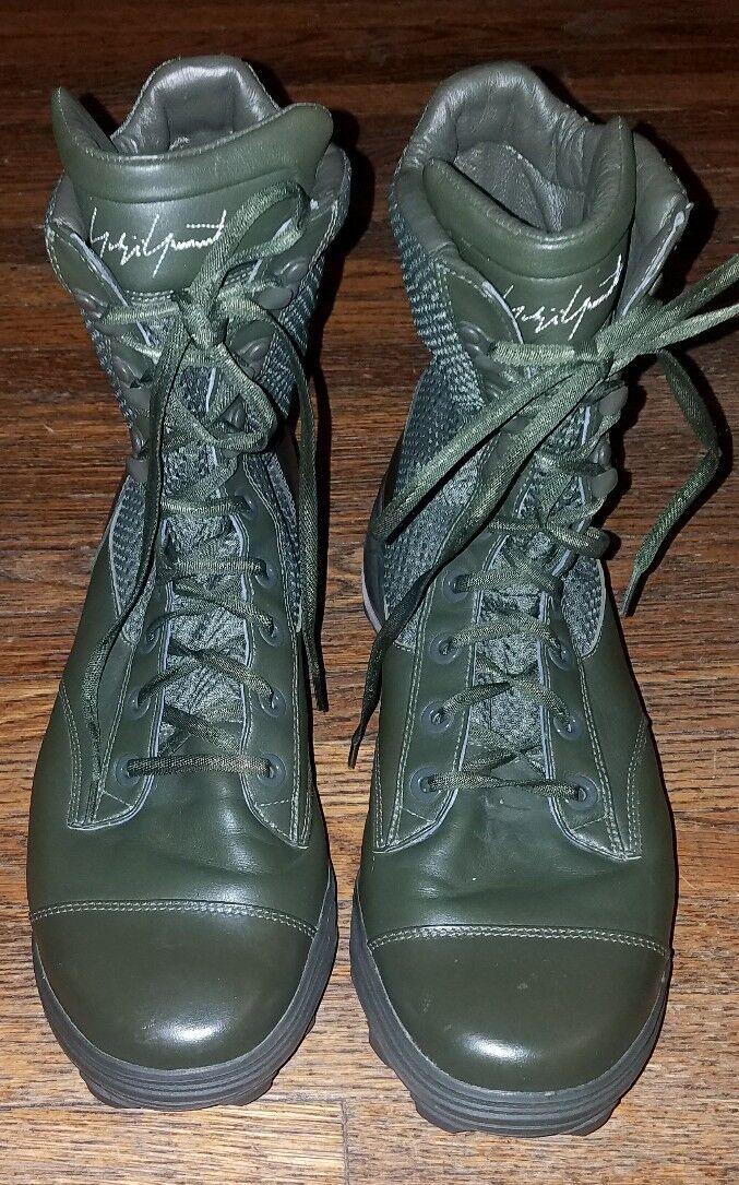 Bellissima anfibi  yohji yamamoto x adidas traxion verde dell'esercito anfibi Bellissima 10 9a731b