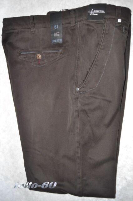 Pantalones de hombre TALLA GRANDE 69 (72) algodón elástico tamaño marrón