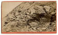1870s Grindelwald Mer de Glace, F. Charnaux, Geneve, Glacier, Geneva Switzerland