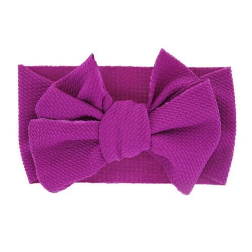 Newborn Toddler Kid Baby Girls Flowers Turban Headband Headwear Accessories