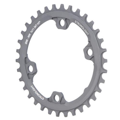 Kettenblätter Stronglight MTB-Kettenblatt Shimano 1x11 Schwarz 34 Zähne Fahrradteile & -komponenten