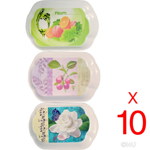 10 X PLASTIC FOOD TRAY SURFACE SERVING DINNER BAR LARGE DESIGN PRINTED 35X24.5CM