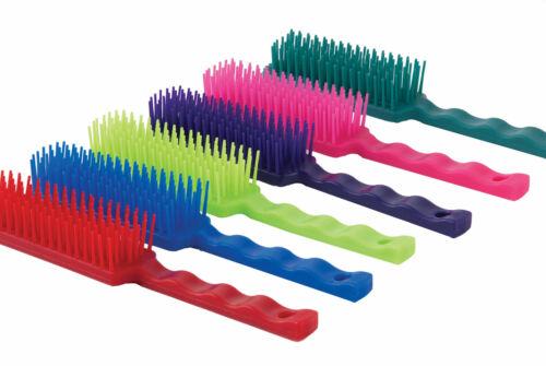 Harlequin Tangle Wrangler Brush Horse /& Pony Grooming Mane Tail Comb