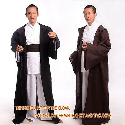 Darth Vader Jedi OBI/Sith Adult Star Wars Hooded Costume Robe Cloak Cape Cosplay