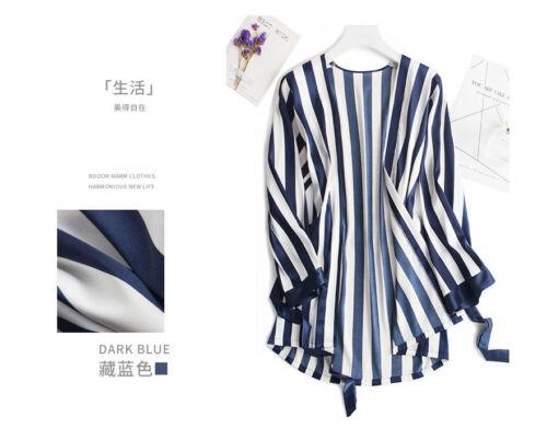 3PCs Women Sleepwear Nightwear Silk Satin Pajama Sets Soft Pyjamas Loungewear