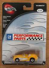 Hot Wheels 1958 Corvette GM Performance Parts No. 3 1/64 w/ Real Riders
