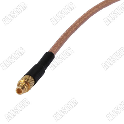 MMCX Plug Male to MMCX Female Jack Adapter RF Pigtail Coaxial Cable RG178 15cm