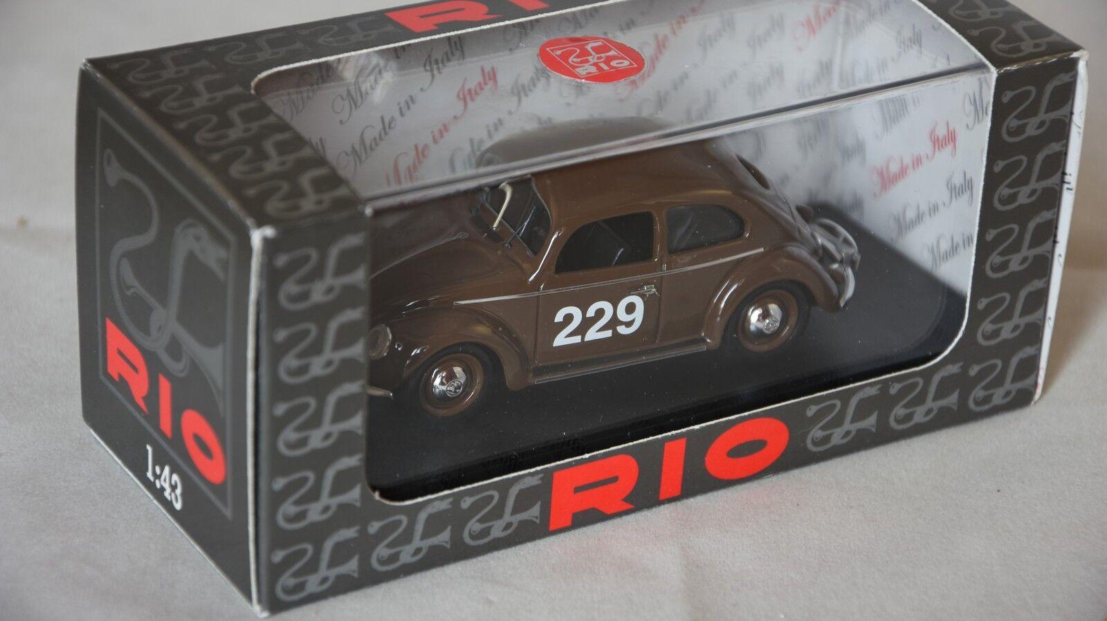 Rio 4414 - Volkswagen VW  229 rallye Monte Carlo - 1952   1 43