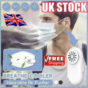 Breathe Cooler Wearable Air Purifier Portable - UK STOCK 2021