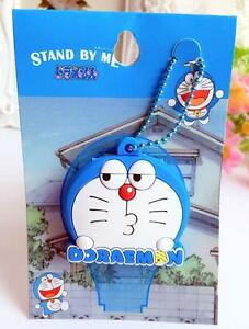 doraemon cute mouth silica gel key met protective cover cute gift