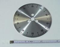 Hallicrafters Tuning Knob Disc 00-100 Sx-101,88,sr-400