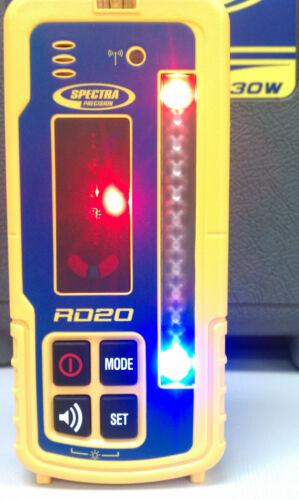 LR60W Spectra laser Récepteur sans fil RD20 affichage à distance avec Tilt Grade Plumb!