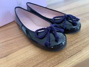 Details zu Pretty Ballerinas Lackleder Ballerina in Gr.36 in Blau. NEU!
