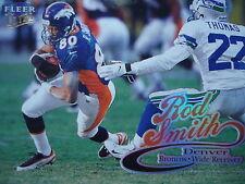 NFL 47 Rod Smith Denver Broncos Fleer Ultra 1999