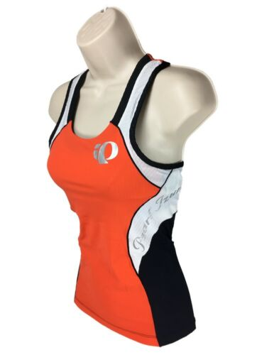 Pearl Izumi ELITE In R Cool Women's Tri Top Singlet Jersey S XS Pink Chry Tom