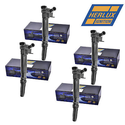 Set of 8 Herko B029 Ignition Coils For Ford Lincoln Mercury 2.3L 4.6L 5.4L 97-06