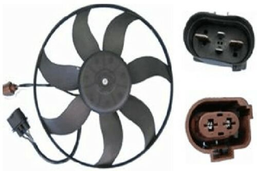 For VW CC Eos Audi A3 TT with 360 mm Driver Left Engine Cooling Fan Motor Behr