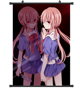 3760 Anime Future Diary Mirai Nikki Gasai Yuno wall Poster Scroll A