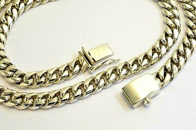 """Taxco Mexican 925 Sterling Silver 6-8 mm Byzantine Chain Necklaces.18/""""-19/"""""""