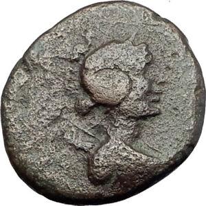 Hierocaesarea-in-Lydia-1-2CenAD-Authentic-Ancient-Greek-Coin-ARTEMIS-STAG-i63696