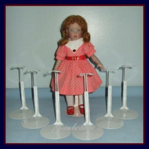 """6 Kaiser Doll Stands for 11/"""" LISSY 12/"""" Marley Wentworth BITTY BETHANY"""