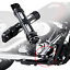 Black-CNC-edge-cut-footpegs-footrest-Harley-Sportster-Touring-Softail-Road-King thumbnail 5