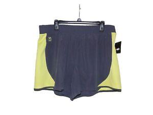 Fila-Iron-Lime-Running-Shorts-XL-Women-New-Mid-Rise