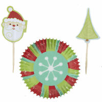 Snowflake Wishes Christmas Holiday Cupcake Combo Pack Wilton 1247
