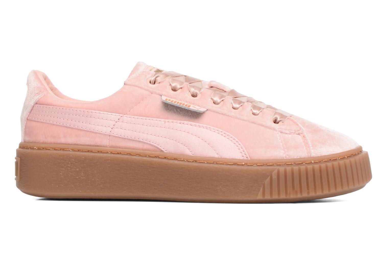 Damen Puma W Basket Platform Vs Sneaker Rosa
