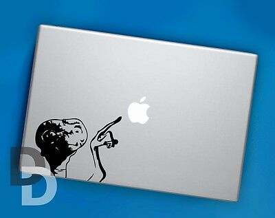 ET Macbook decal / Laptop sticker / Fun decals / Car stickers