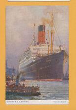 RMS Samaria Postcard - Cunard Line