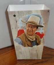 John Wayne Popcorn Box 1 El Dorado Rio Bravo Mclintock Chisum Free Ship