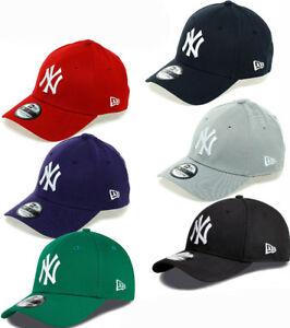 New Era 3930 League Basic NY Yankees Stretch Fit Baseball Cap  172c85a0ad6