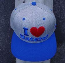 22cfbf162ea Mens Black Haters Embroidered Logo Snapback Hat -New DGK Skateboard Co.  Mens Black Haters Embroidered Logo Snapback Hat