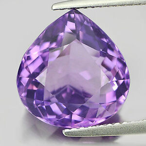 5 PIECES OF 4x3mm PEAR-FACET LIGHT-PURPLE NATURAL ...