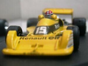 Wow extrêmement rare Renault 1977 Rs01 Jabouille Holland 1:43 Quartzo-spark