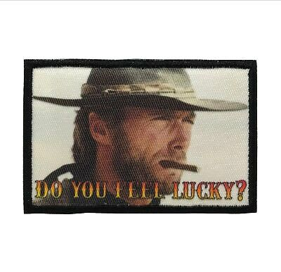 """John Wayne Quote /""""Life/"""" Moral Patch with VELCRO® Brand Fastener or Iron on"""